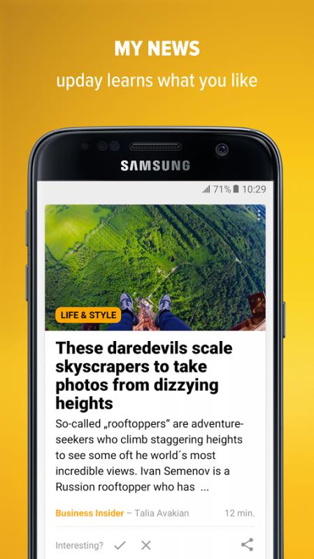 upday news for Samsung APK 2 5 13111 (de axelspringer yana) Apk